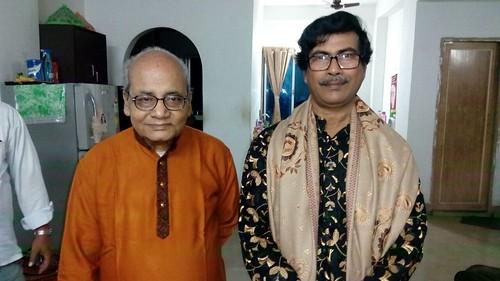 With Guruji Biswanath Sur, vocalist