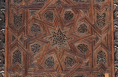 Detail of wooden door, Bou Inania Madrasa, Fez (Wild Chroma) Tags: bou inania madrasa wood door medersa bouinania fez morocco