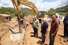 Visitar a obra da a construção do ramal que liga a tubulação central do sistema da Adutora do Agreste ao município de Brejo da Madre de Deus