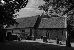 St Mary the Blessed Virgin Church, Crundale (joshtilley) Tags: stmarytheblessedvirgin stmary stmaryschurch stmarythevirgin stmarythevirginchurch stmarys stmarytheblessedvirgincrundale crundalekent crundale blackandwhite bwchurch bwphoto blackwhite blackandwhitechurch blackandwhitephotography bwphotography ukchurch britishchurch englishchurch parishchurch anglicanchurch medievalchurch