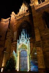 Gates of Heaven (craigcallagher) Tags: colmar christmas lights street medieval fairytale market