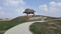 A34 Aire de Woinic-1 (European Roads) Tags: a34 woinic aire autoroute boar