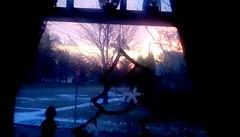 Sunrise through the window - HWW (Maenette1) Tags: sunrise window christmas morning menominee uppermichigan happywindowswednesday flicker365 allthingsmichigan absolutemichigan projectmichigan michiganchristmas