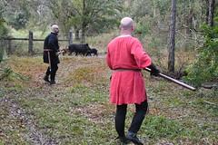 EEF_7684 (efusco) Tags: boar medieval spear brambleschoolearteofthehunt bramble schoole military arts academy florida ferel hog pig