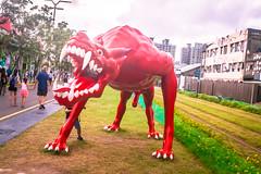 Pier 2 Art District, Kaohsiung, Taiwan (Jirka Matousek) Tags: pier2 artdistrict kaohsiung taiwan artist decoration streetart art asia asian taiwanese china chineseartist statue painting graffiti trail museum modernart sculpture