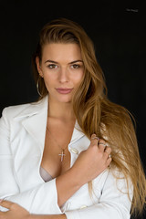 Kornelia (piotr_szymanek) Tags: kornelia korneliaw woman young skinny face portrait studio blonde longhair white eyesoncamera 1k 20f 50f 100f 5k 10k og250 20k