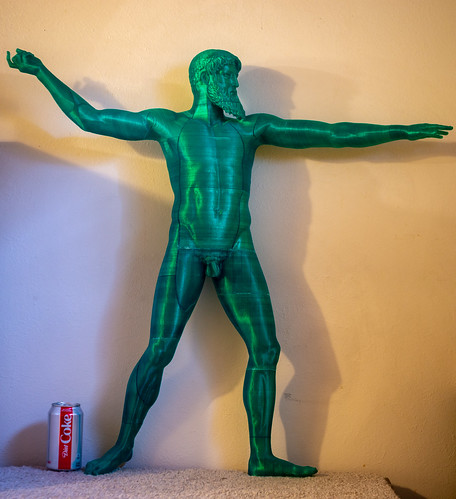 3D print of the Artemision God
