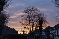 Addlestone sunset (201903013_2) (Graham Dash) Tags: addlestone clouds sunsets sunsetsaddlestone