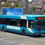 ARRIVA NORTH EAST 4006 S892ONL IS SEEN IN DURHAM ON 2 AUGUST 2012