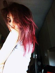 Little strawberry; (JoyWPhotography) Tags: me myself pinkhair pink redhair red hairs hairstyle hair colors