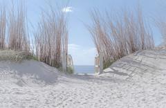 Entering the beach of Westkapelle (NL) (biglo_de) Tags: strand sand treppen beach zoutelande westkapelle niederlande holland netherlands stairs water wasser nordsee northsea