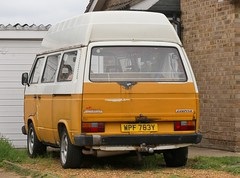 WPF 763Y (Nivek.Old.Gold) Tags: 1983 volkswagen camping 78ps camper 1915cc t3