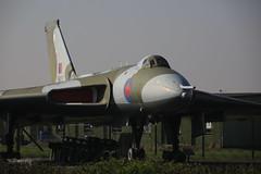 Avro Vulcan B.2 XM607 (Mike_47714) Tags: aircraft aviation aeroplane deltawing avro vulcan b2 xm607 raf royal air force waddington