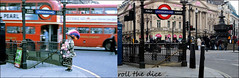 Piccadilly`1962-2019 (roll the dice) Tags: london westminster w1 westend lights tube underground entrance old local history retro bygone streetfurniture architecture mad colour surreal people fashion charity nostalgia comparison oldandnew pastandpresent hereandnow urban england uk classic art routemaster bus travel transport changes collection canon tourism tourists roundel oldbill coppers police shops tardis pearlies queen subway bollards henrycroft buttons costume pearl culture ornate