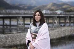 100 Strangers - Yumi 1/100 (Andrew Allan Jpn) Tags: happyplanet asiafavorites portrait travel japanesegirl cute beauty woman kimono yukata winter 100strangers posed street inthestreet smile