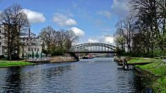 Lübeck  Trave-Kanal (dl1ydn) Tags: dl1ydn manual lübeck travekanal schleswigholstein agfa colorambion 35mmf34 altglas oldlens