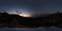 R0011572 (full.moon.for.the.fool.man) Tags: 360 2018 xmass chania thetasc theta ricoh crete greece χανιά κρήτη ελλάδα ηλιοβασίλεμα sunset