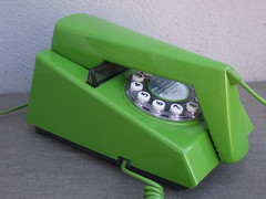 Bright Lime Green Repro Trim Phone ...Mid Century Design (beetle2001cybergreen) Tags: bright lime green repro trim phone mid century design