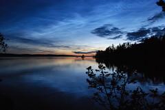 DSC_0520 (MSchmitze87) Tags: schweden sweden dalsland kanu canoeing see lake sunset