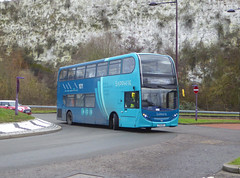 AKT 6475 - YY14WFX - BLUEWATER SHOPPING CENTRE - SUN 27TH JAN 2019 (Bexleybus) Tags: arriva kent thameside bluewater park shopping centre sapphire adl enviro dennis 400 6475 yy14wfx route 700 express