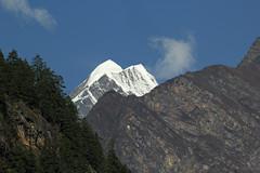 110. Distant View Of Ganesh Himal Range, Rana To Bihi Phedi, Gorkha District, Manaslu Trek, Nepal (Jay Ramji's Travels) Tags: nepal rana bihiphedi gorkhadistrict manaslutrek himalayas mountain ganeshhimal गणेशहिमाल landscape