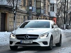KA1111BK (Vetal_888) Tags: mercedes cls350 clsclass c218 licenseplates ukraine kyiv номернізнаки ka1111bk ka україна київ kabk 1111 white