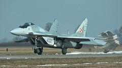 MiG-29G (kamil_olszowy) Tags: mig29g fulcrum fighter 4122 polish air force grey camuflage siły powietrzne rp epmb malbork 912a 22blt baza lotnictwa taktycznego 41elt миг29г ввс польши