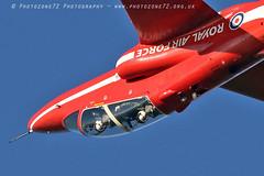 9811 Red 6 XX244 (photozone72) Tags: raf rafat redarrows reds redwhiteblue aviation aircraft scampton lincolnshire canon canon7dmk2 canon100400f4556lii 7dmk2 xx244 red6 synchro