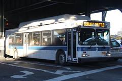 IMG_4396 (GojiMet86) Tags: mta nyc new york city bus buses 2011 c40lf cng 199 subway shuttle 31st street astoria blvd