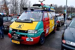 Start Carbage Run winter 2019 - Kopenhagen (FaceMePLS) Tags: kopenhagen copenhagen denemarken denmark scandinavië facemepls nikond5500 rally car voiture pkw wagen voertuig 21ftnz 2000vwtransporter volkswagen carbageteam5429 harlekin lier