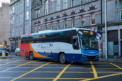 53642 KX61GEU Stagecoach Bluebird (busmanscotland) Tags: 53642 kx61geu stagecoach bluebird kx61 geu volvo b9r plaxton panther midland red south megabus megabuscom