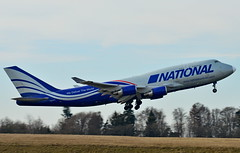 N952CA National Airlines Boeing 747-400(F) (czerwonyr) Tags: n952ca national airlines boeing 747400f edfh hhn