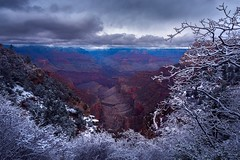 Moody Canyon (AirHaake) Tags: grandcanyon grandcanyonnationalpark landscape landscapephotography landscapephoto atmosphere foreground framing clouds mood storm dark