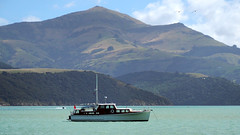 Sail on Akaroa (RP Major) Tags: sail boat mountain water bay akaroa new zealand nz south island landscape