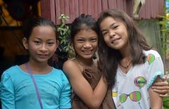 pretty preteen girls (the foreign photographer - ฝรั่งถ่) Tags: three pretty preteen girls children khlong bangkhen bangkok thailand nikon d3200
