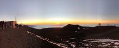 Sunset Atop Mauna Kea (Melinda * Young) Tags: sunset mountain view maunakea mko hawaii above clouds altitude winter science academic telescopes people snow horizon roofoftheworld bigisland astronomy observatories