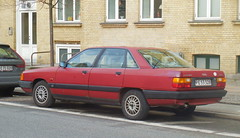 1989 Audi 100 PE53328 still on the roads of Denmark (sms88aec) Tags: audi 100 pe53328 still roads denmark 1989