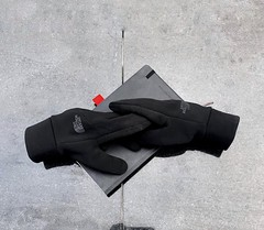 The Touch (Different≠Same) Tags: random instantsculpture religion science materialism creationism conceptual thenorthface thf gloves spiritual divine