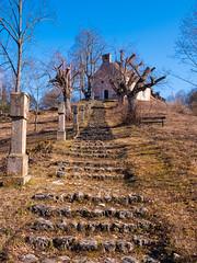 path (phlickrron) Tags: kallmünz path church hill outdoors oberpfalz bavaria tree sebastiberg