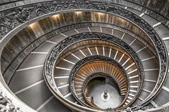 vatican escalier (arnolamez) Tags: rome roma stair escalier minimalist minimaliste vatican