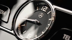 Clock Mercedes Benz 2018 (norbert.wegner) Tags: macromondays timepieces macro clock closeup speed technology time watch nopeople equipment chrome dashboard wristwatch timer speedometer luxury clockface clockhand minutehand blackcolor vehicleinterior cof079 cof079mark cof079suea cof079dmnq cof079mchi