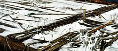 Marine Scrap 3 (PAJ880) Tags: scrap barge snow junk lines rope east boston ma scrapyard