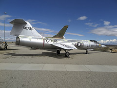 F-104A Starfighter 56-0790 of AFFTC (JimLeslie33) Tags: 560790 f104 f104a century circle afftc series starfighter lockheed usaf edwards afb preserved fighter fg790