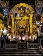 Stendhal syndrome (Paco CT) Tags: church construccion construction iglesia inside interior palermocapellapalatina indoor palermo sicily italy it pacoct 2019 travel