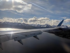 Beagle Channel (jmaxtours) Tags: aerolineasargentinaslvhkuboeing737max8 boeing737max8 lvhku aerolineasargentinas beaglechannel ushuaia ushuaiaargentina elfindelmundo theendoftheworld argentina boeing max8 boeing737 wing