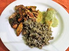 Pulpo y Arroz (knightbefore_99) Tags: mexico mexican oaxaca tangolunda tropical cool dreams west coast lunch food tasty pulpo arroz rice seafood octopus delicious