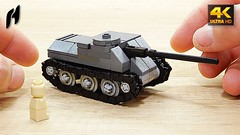 SU-100 (MOC - 4K) (hajdekr) Tags: lego buildingblocks tip help tips inspiration design moc myowncreation toy model buildingbricks bricks brick builder buildingtoy track tread tank worldwarii su100 weapon military samokhodnayaustanovka100 samokhodnaya ustanovka100 tankdestroyer destroyer destroy klimov diesel engine transport heavy armed soviet russian russia cccp sssr