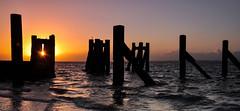 Gogg`s Berth (daveknight1946) Tags: shoeburyness essex riverthames water goggsberth pier sunrise