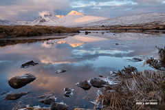 'Ice Spikes & Snow Peaks' (macdad1948) Tags: scotland glencoe reflections sunrise river highlands frost lochachlaise ice mountains frozen dawn icespikes blackmount