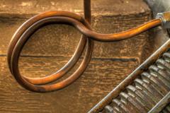 Copper Tubing (arbyreed) Tags: arbyreed close closeup legends copper tubing selectivefocus